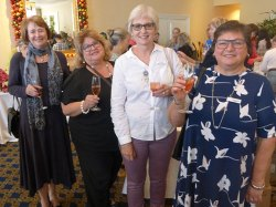 Christmas Lunch and some farewells at the Adele Searll 100 Club