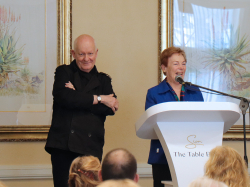Pieter-Dirk Uys  at the Adele Searll 100 Club