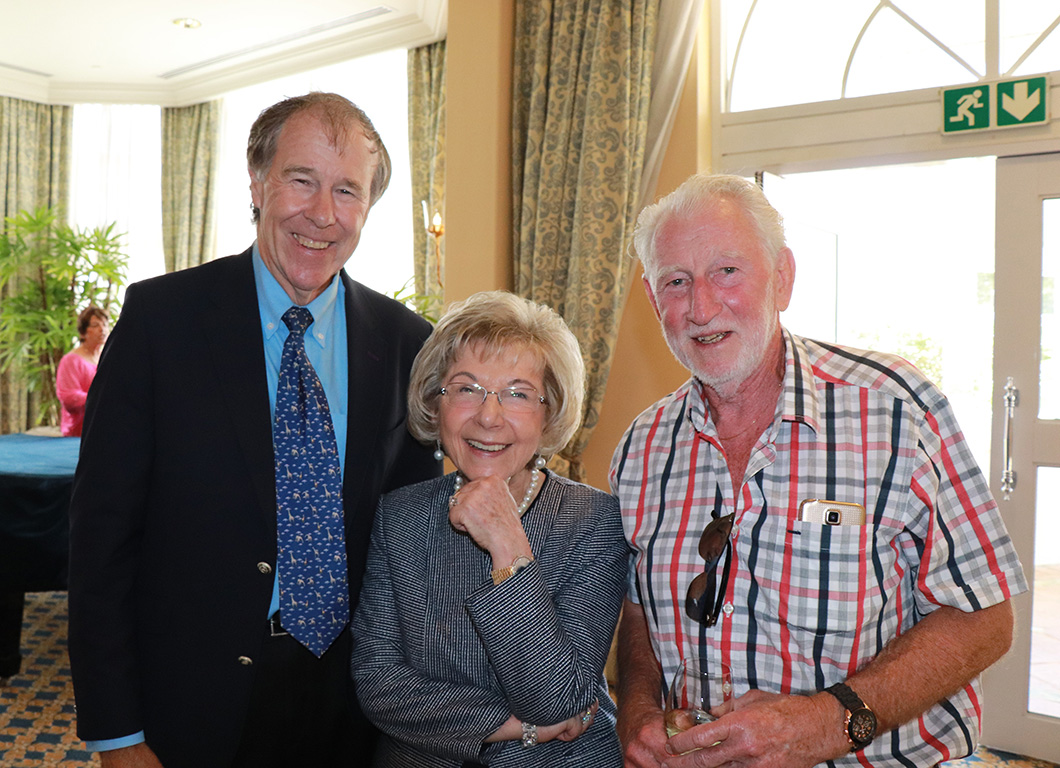 Lunch with Tim Noakes at The Adele Searll Club