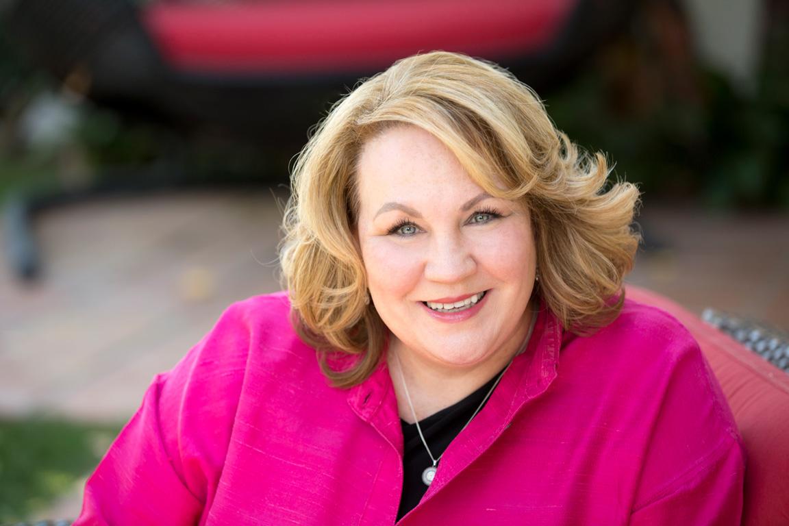 Karen Borochowitz de-mystifying dementia at the Adele Searll 100 Club
