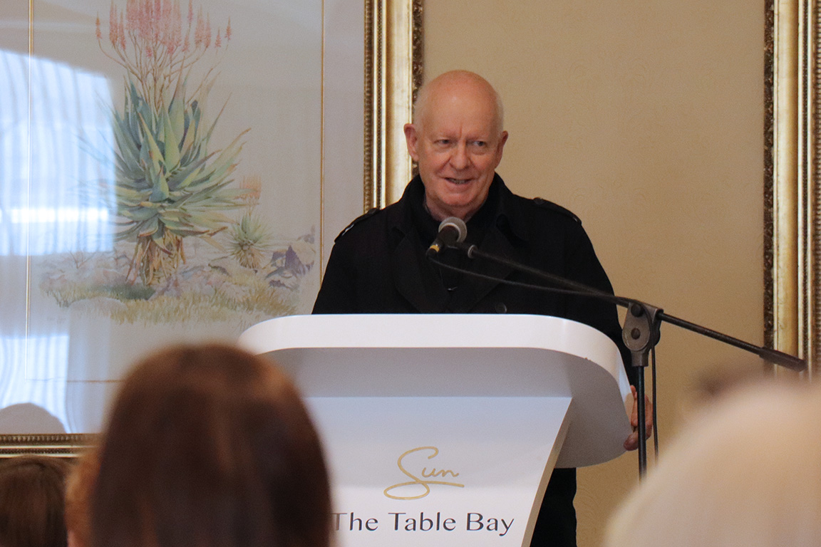 Pieter-Dirk Uys – The Echo of a Noise – Adele Searll 100 Club Christmas Lunch